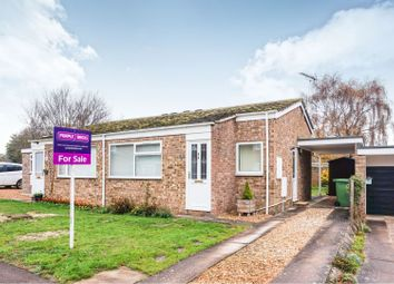 Thumbnail 2 bed semi-detached bungalow for sale in The Poplars, Bluntisham