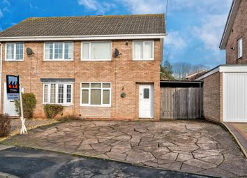 Thumbnail 3 bedroom semi-detached house for sale in Norman Road, Penkridge, Stafford