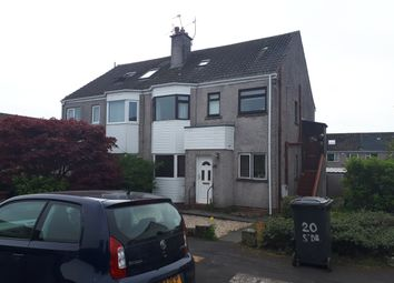 Thumbnail 2 bed flat for sale in Dalmahoy Crescent, Bridge Of Weir
