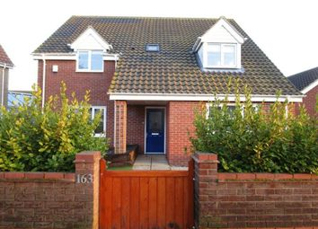 Thumbnail 4 bed detached house to rent in Beccles Road, Bradwell, Great Yarmouth