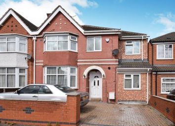 Thumbnail 5 bed semi-detached house for sale in Rowsley Avenue, North Evington, Leicester, Leicestershire
