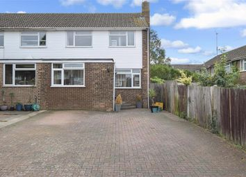 Thumbnail 4 bed end terrace house for sale in Ryan Drive, Bearsted, Maidstone, Kent