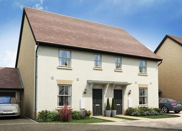 "Thumbnail 3 bed semi-detached house for sale in ""Ashworth"" at Stansted Road, Elsenham, Bishop's Stortford"