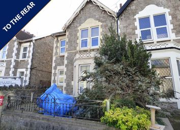 Thumbnail 1 bed flat for sale in Moorland Road, Weston-Super-Mare