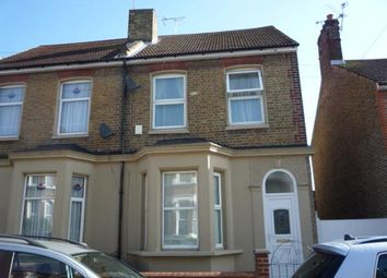 Thumbnail 4 bed semi-detached house for sale in Norfolk Road, Gravesend