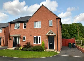 Thumbnail 3 bed semi-detached house for sale in Levetts Close, Stenson Fields, Derby