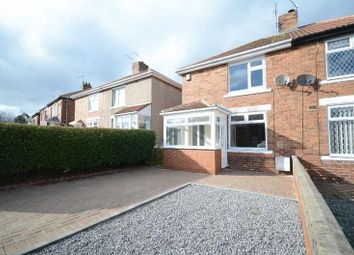 Thumbnail 2 bed semi-detached house for sale in Leechmere Crescent, Seaham