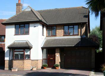 Thumbnail 4 bed detached house for sale in Keysland, Thundersley, Benfleet, Essex