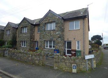 Thumbnail 4 bed end terrace house for sale in Tyn Rhosyn, Morfa Bychan, Porthmadog, Gwynedd
