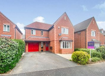 Thumbnail 4 bed detached house for sale in Coriolanus Square, Warwick