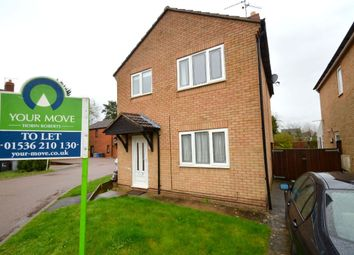 Thumbnail 3 bed detached house to rent in Hereford Close, Desborough, Kettering