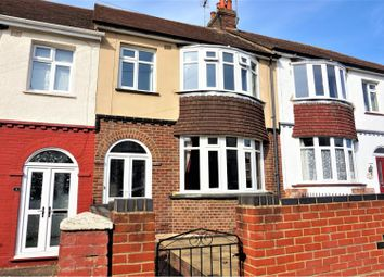 Thumbnail 3 bed terraced house for sale in Sanctuary Road, Gillingham