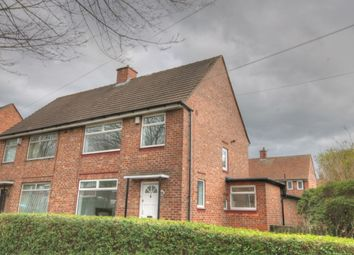 Thumbnail 3 bedroom semi-detached house for sale in Binswood Avenue, Blakelaw, Newcastle Upon Tyne