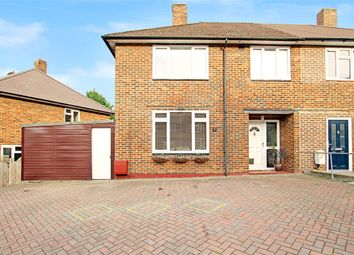 Thumbnail 3 bed semi-detached house for sale in Lullingstone Crescent, St Pauls Cray, Kent