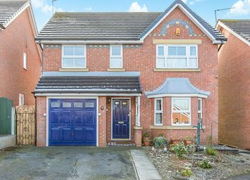 Thumbnail 4 bed detached house for sale in Partridge Close, Congleton