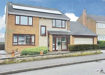 Thumbnail 4 bed detached house for sale in Harehill Crescent, Chesterfield, Derbyshire