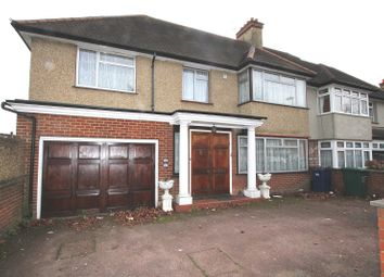 Thumbnail 5 bed semi-detached house for sale in Edgwarebury Gardens, Edgware, Greater London.