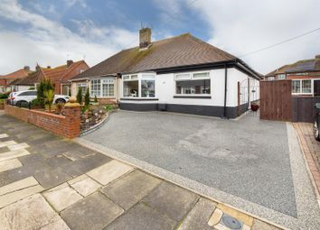 Thumbnail 3 bed semi-detached bungalow for sale in Craneswater Avenue, Whitley Bay