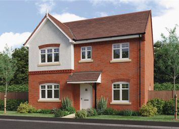 "Thumbnail 4 bedroom detached house for sale in ""Foxley"" at Barnards Way, Kibworth Harcourt, Leicester"