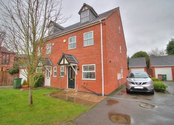 Thumbnail 4 bed semi-detached house for sale in Sandford Road, Syston, Leicester