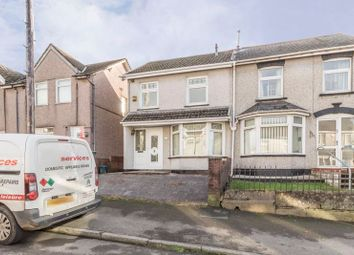 3 bed semi-detached house for sale in Pencoed Avenue, Cefn Fforest, Blackwood NP12