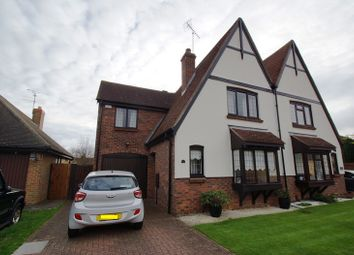 Thumbnail 4 bedroom semi-detached house for sale in Wambrook, Shoeburyness, Southend-On-Sea