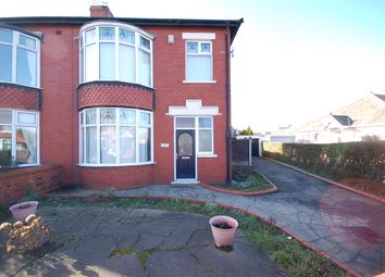 Thumbnail 3 bedroom semi-detached house for sale in Hawes Side Lane, Blackpool, Lancashire