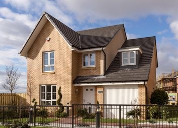 "Thumbnail 4 bed detached house for sale in ""Drummond"" at Foxglove Grove, Cambuslang, Glasgow"