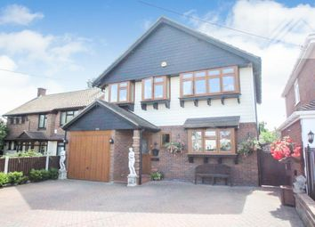 Thumbnail 4 bed detached house for sale in Long Road, Canvey Island