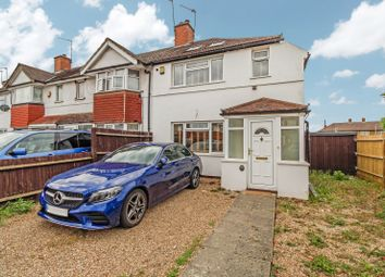 Thumbnail 2 bed end terrace house to rent in Trevor Crescent, Ruislip