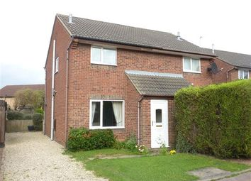 Thumbnail 2 bed semi-detached house for sale in Orion Way, Laceby Acres, Grimsby