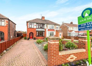 Thumbnail 3 bed semi-detached house for sale in Normanby Road, Ormesby, Middlesbrough