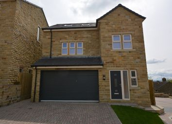 Thumbnail 4 bed detached house for sale in Laund Croft, Huddersfield