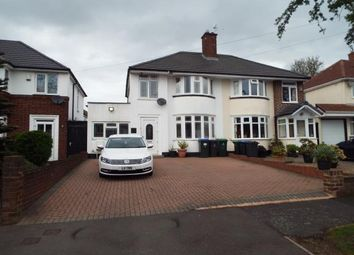 Thumbnail 4 bed semi-detached house for sale in Beechwood Road, Great Barr, Birmingham, West Midlands