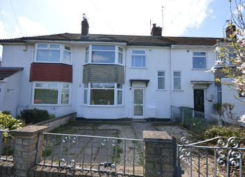 Thumbnail 3 bed terraced house for sale in Gaston Avenue, Keynsham, Somerset