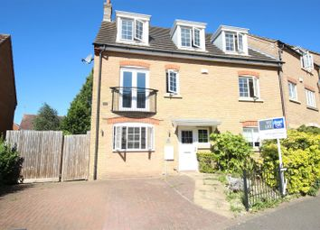 Thumbnail 5 bedroom end terrace house to rent in Lady Charlotte Road, Hampton Hargate, Peterborough