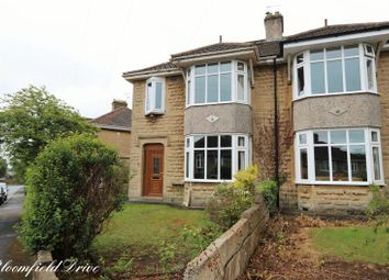 Thumbnail 3 bed semi-detached house to rent in Bloomfield Drive, Odd Down, Bath
