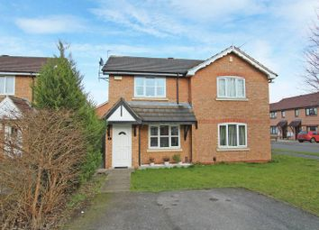 Thumbnail 2 bedroom semi-detached house for sale in Roseheath Close, Derby