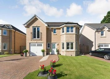 Thumbnail 4 bedroom detached house for sale in Kingfisher Court, Motherwell, North Lanarkshire