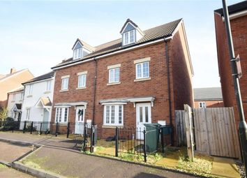 Thumbnail 4 bed town house for sale in Chestnut Road, Brockworth, Gloucester