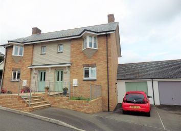 Thumbnail 2 bed semi-detached house for sale in Molesworth Way, Holsworthy