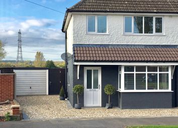 Thumbnail 3 bed semi-detached house for sale in Vicarage Close, Kirby Muxloe