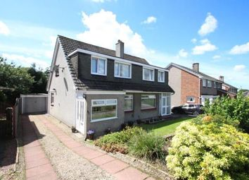 Thumbnail 3 bed semi-detached house for sale in Woodfield Avenue, Bishopbriggs, Glasgow, East Dunbartonshire