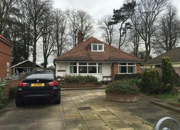 Thumbnail 4 bedroom detached bungalow to rent in Station Road, Corton, Lowestoft