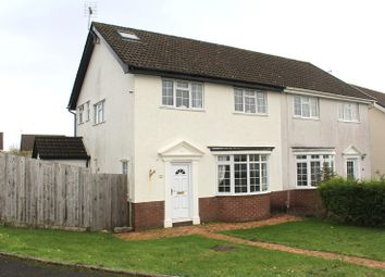 Thumbnail 4 bed semi-detached house for sale in Eastlands Park, Bishopston, Swansea, West Glamorgan.