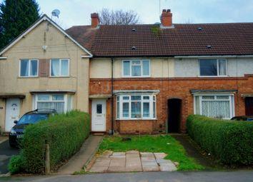 Thumbnail 3 bed terraced house for sale in Norrington Road, Northfield, Birmingham