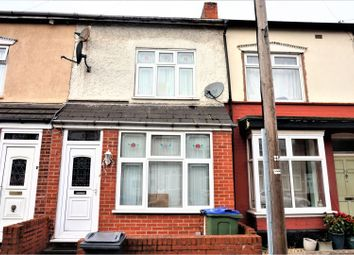 Thumbnail 3 bed terraced house for sale in Rosefield Road, Smethwick