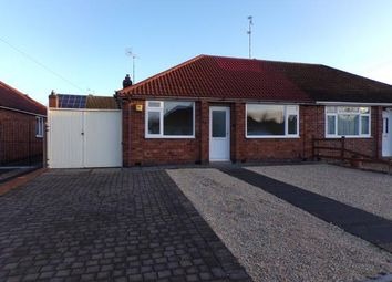 Thumbnail 2 bed bungalow for sale in Alexandra Street, Thurmatson, Leicester, Leicestershire