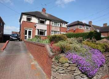 Thumbnail 3 bed semi-detached house for sale in Crown Bank, Talke, Talke, Stoke On Trent