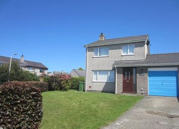 Thumbnail 3 bed detached house to rent in Ty'n Rhos Estate, Penysarn